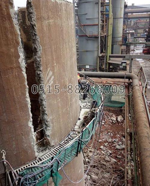 砼烟囱拆除(图1)