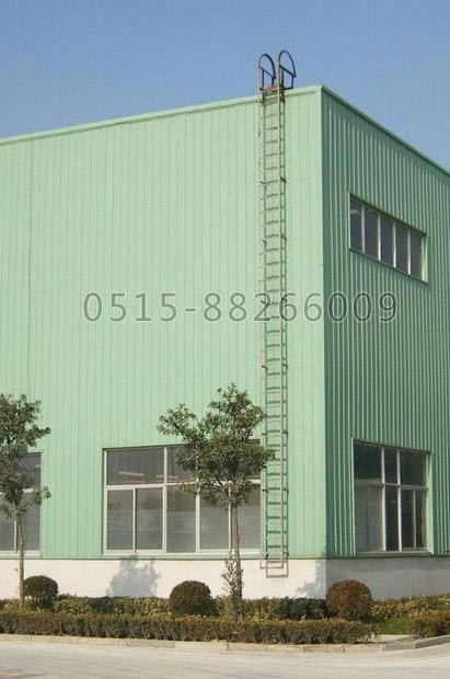 厂房安装爬梯